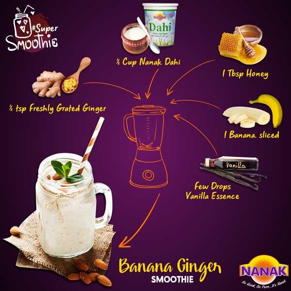 Nanak DIY Smoothie Recipes