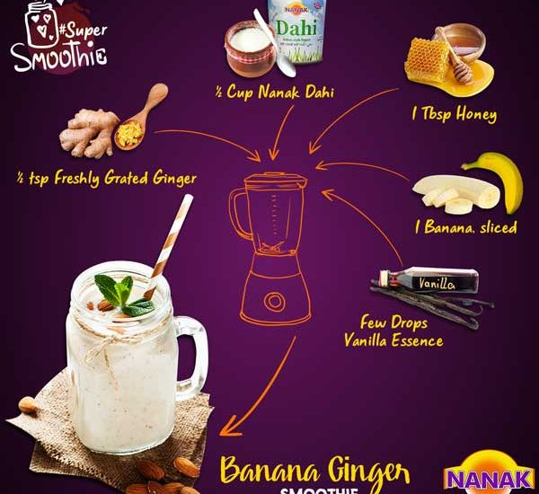 Nanak DIY Smoothie Recipes